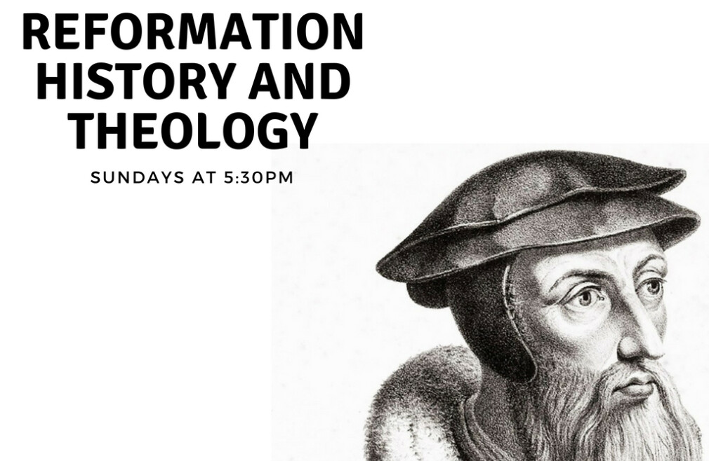 Reformation History and Theology